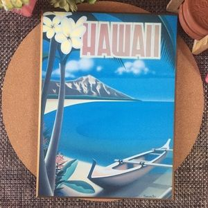 Tiki Style Hawaii Wood Plaque Mounting